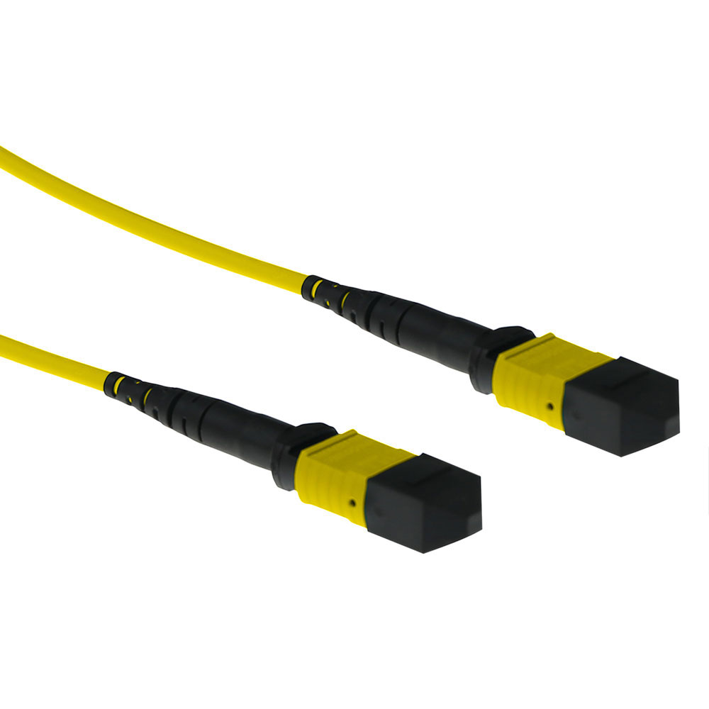 20 meter SInglemode 9/125 OS2 polarity A fiber patch cable with MTP female connectors