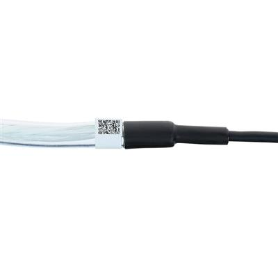 200 meter Singlemode 9/125 OS2 indoor/outdoor cable 4 way with LC connectors