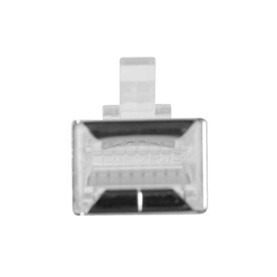 RJ45 (8P/8C) shielded modulaire connector for round cable with stranded conductors