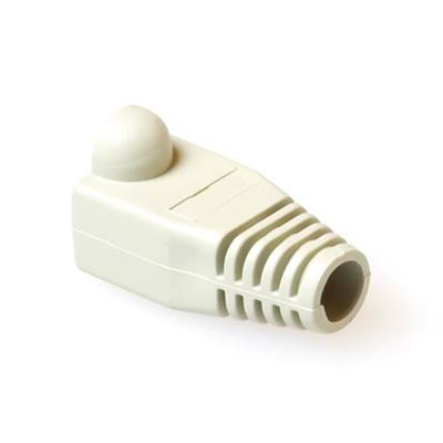 RJ45 white boot for 6.5 mm cable